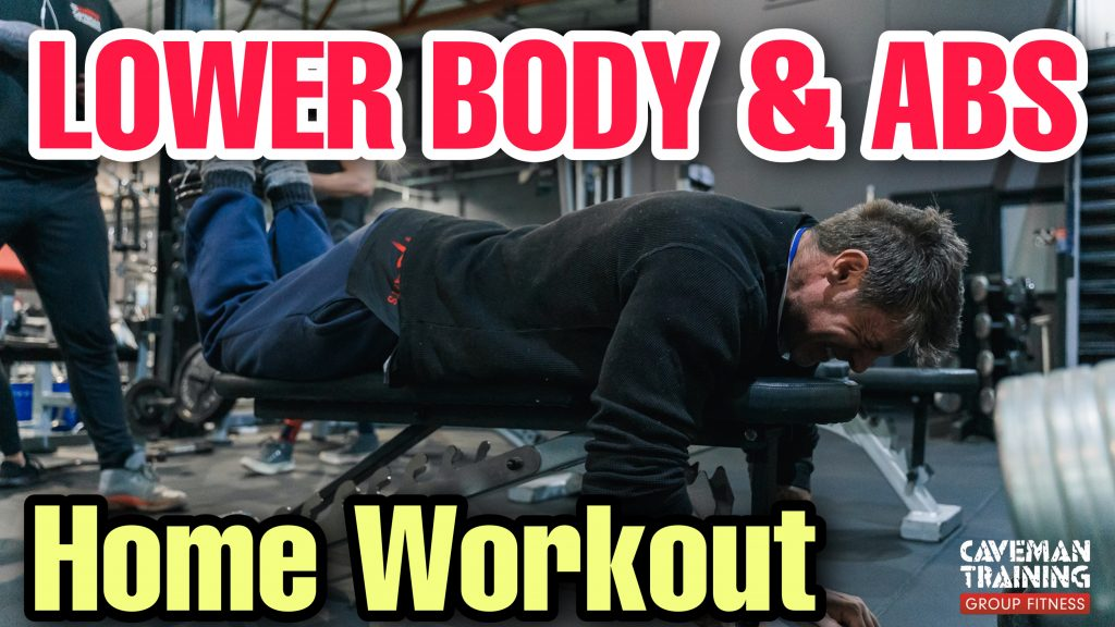 Lower body and abs home workout