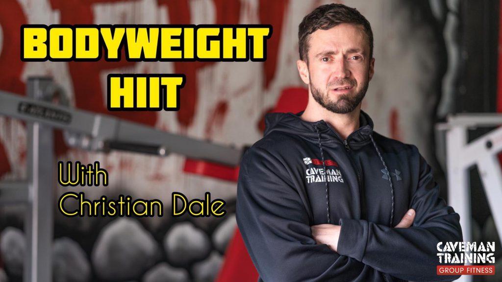 Bodyweight HIIT Class
