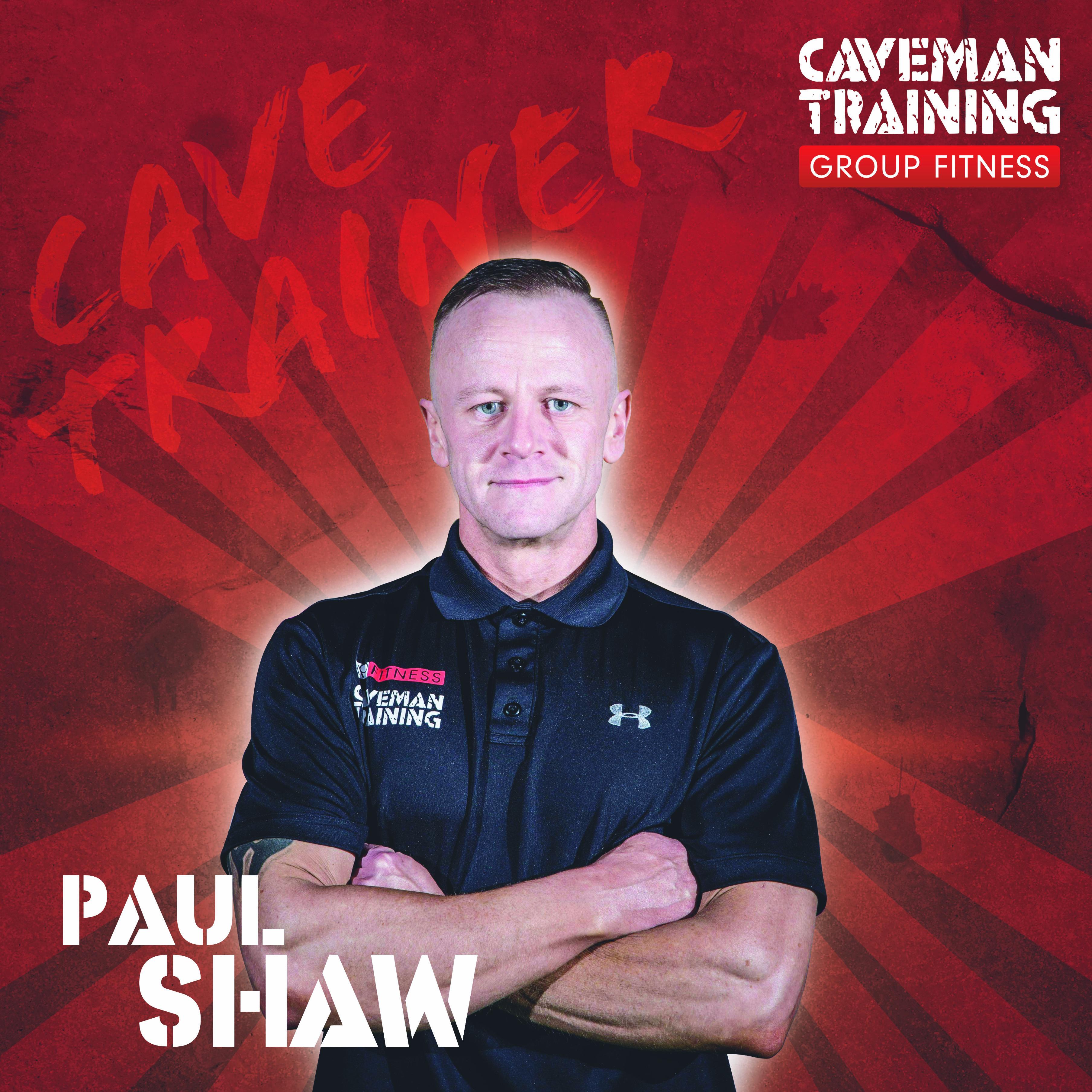 Caveman Training Trainer - Paul Shaw